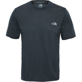 The North Face M's Reaxion Amp Crew Shirt Dark Grey Heather